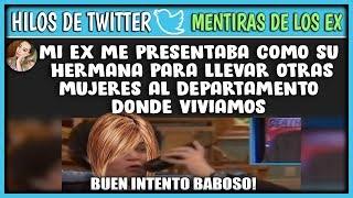 HILOS DE TWITTER #8 MENTIRAS DE EX NOVIOS