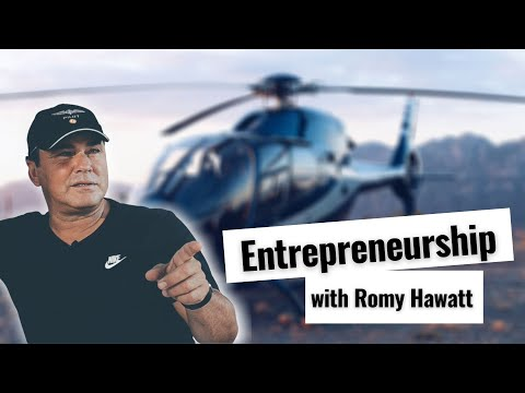 Romy Hawatt about business, entrepreneurship, and philanthropy