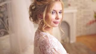 Свадебный макияж, свадебная прическа