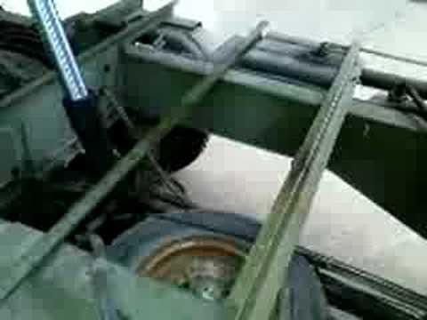 Piaggio APE 600MP, Kipper, ribaltabile idraulico