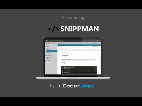Introducing Snippman