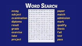 Word Search Puzzles Games Free On YouTube screenshot 5