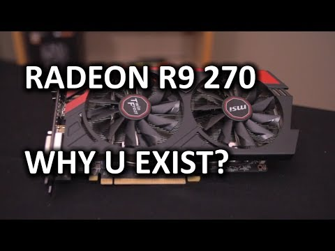 AMD Radeon R9 270 Unboxing & Review