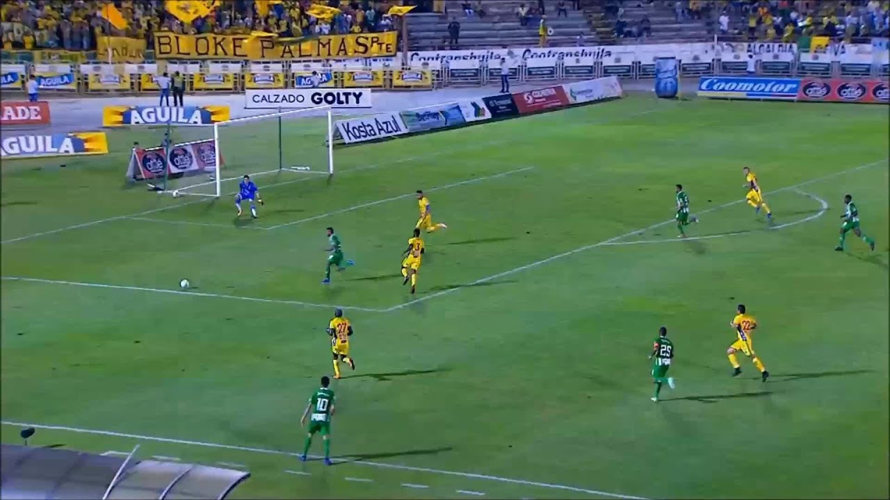 Huila Vs Nacional: Huila Vs Nacional (1-1) Liga Aguila 2019 I
