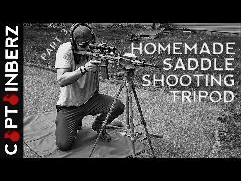 Homemade Saddle Shooting Tripod: Part 3 of 3