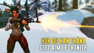 HOW YOU CAN TRAIN YOUR AIM ON FORTNITE & BE BETTER! -FORTNITE IN ENGLISH