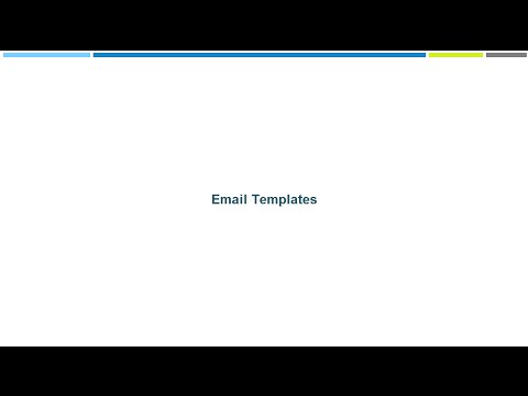 Email Templates In Vtiger Crm Youtube