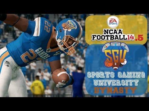 NCAA Football 14.5: Sports Gaming University Gamers – EP2 (Week 2 vs Pittsburgh)