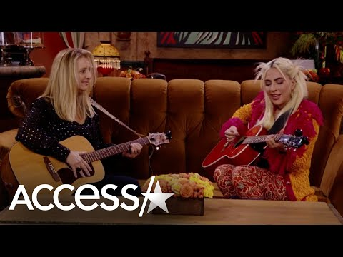 Lady Gaga & Lisa Kudrow Sing 'Smelly Cat' on 'Friends' Reunion