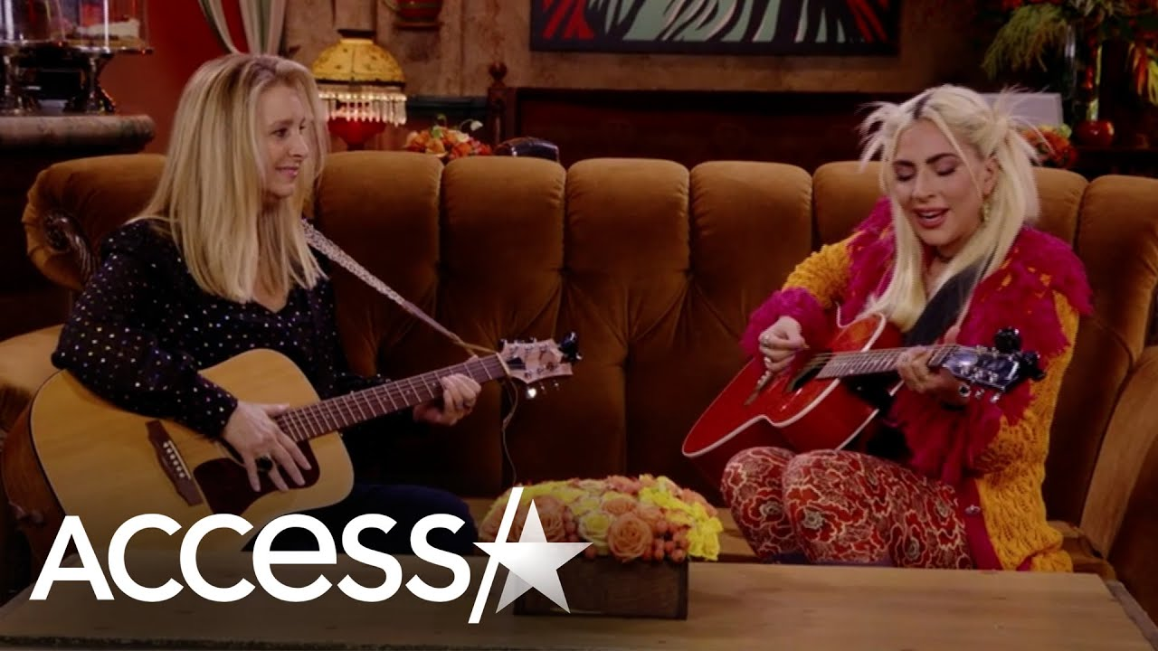Download Lady Gaga & Lisa Kudrow Sing 'Smelly Cat' on 'Friends' Reunion