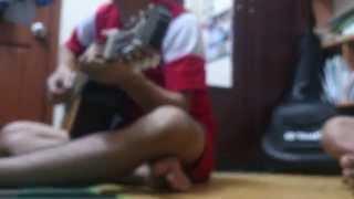 [DEMO]Hát về mái trường Hoàng Văn Thụ -  Guitar cover