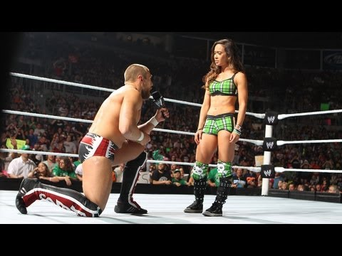Daniel Bryan  AJ accepts Bryan's propasal: Raw - June 16, 2012