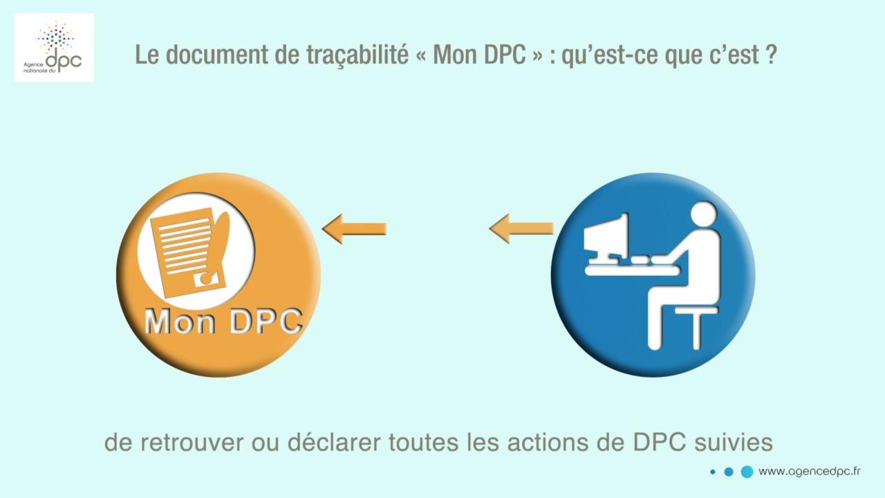 Mon DPC : Lancement du nouveau document de traçabilité