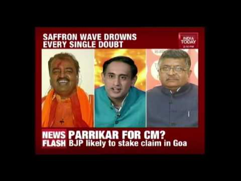 India Today Special Broadcast: Saffron Wave Drowns Every Single Doubt