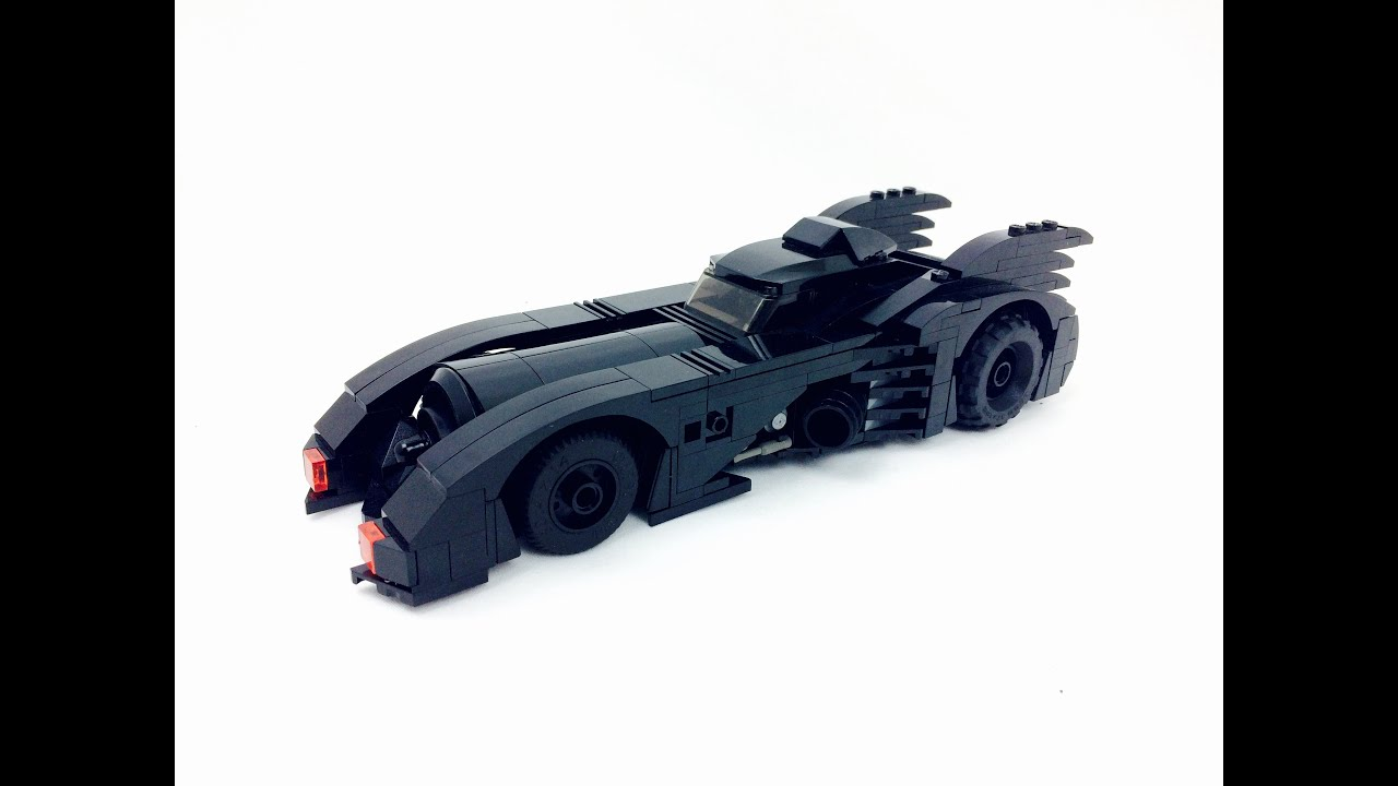 custom lego batman 3 beyond gotham batmobile review youtube. Black Bedroom Furniture Sets. Home Design Ideas