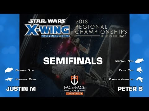 X-Wing - 2018 Toronto Regional @ Face to Face Games - Semifinal