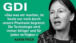 Karin Frick (Head Think Tank, GDI) zur Studie Zukunft der Medien «Öffentlichkeit 4.0»