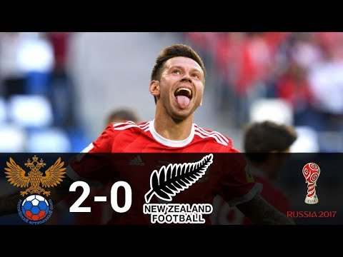 Match 1 06 17 17 Russia vs New Zealand 2 0    English Commentary 480p