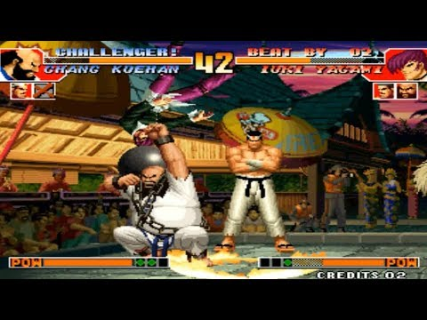KoF 97 - Mie Fu (China) vs LAO K (China) yzkof, the king of fighters 97