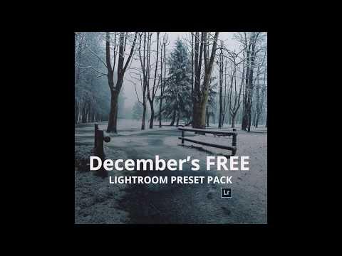 Free December Preset Pack | Art Of Visuals