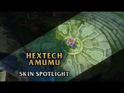 ► Hextech Amumu ◀ League of Legends ▂ Skin Spotlight