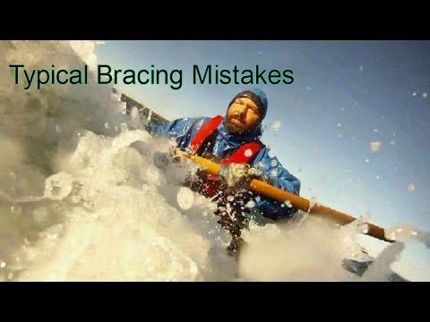 How To Brace A Sea Kayak   Avoid Bracing Mistakes