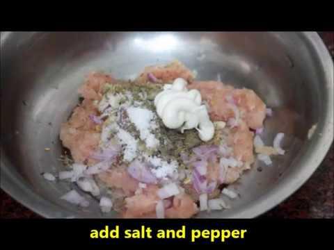 Yummy Chicken Burger Recipe  !!!