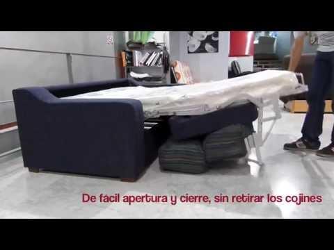 Como Abrir Sof Cama Sistema Italiano La Nube Sof S