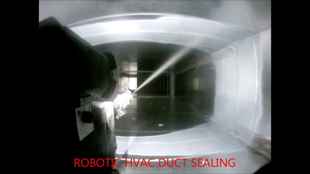 Inspect Clean And Seal Hvac Ducts Youtube