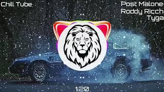 Post Malone - Wow. (Remix) feat Roddy Ricch & Tyga ( Bass Boosted)