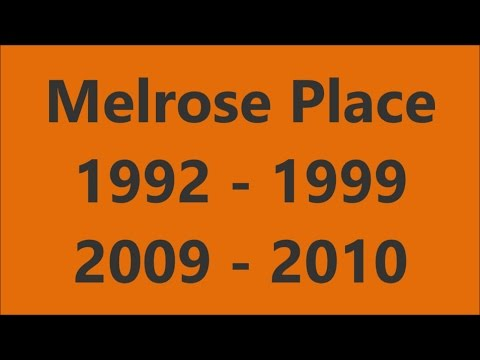 Melrose Place Opening Compilation