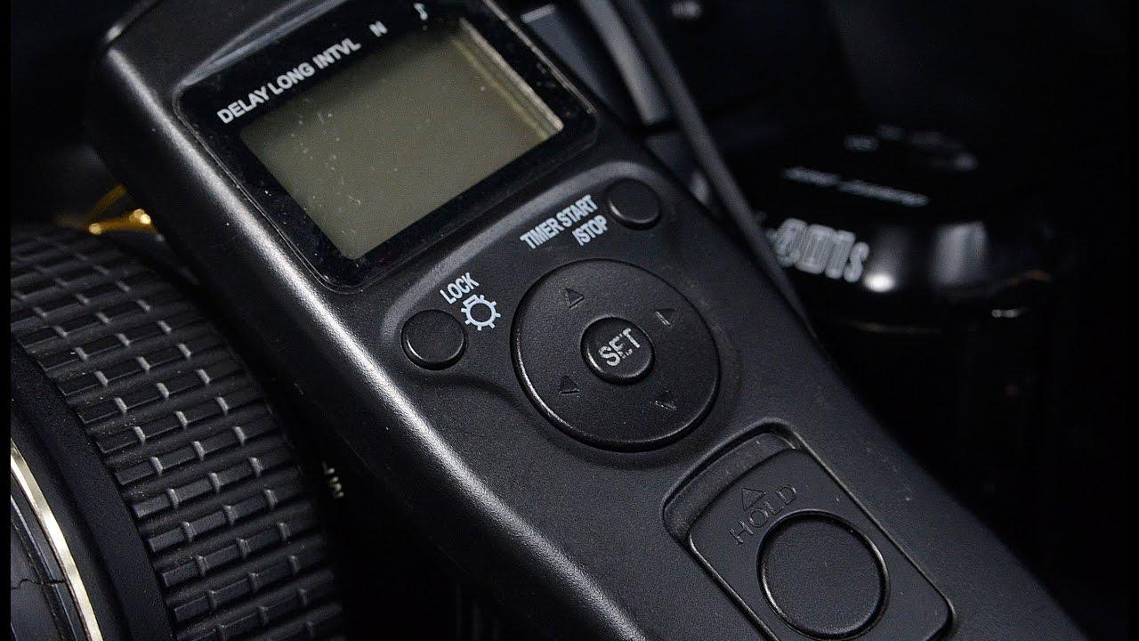 'Intervalometer' Remote Control Timer for Nikon D90/D3xxx/D5xxx/D7xxx (Long  Exposure, Time Lapse)