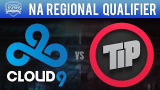 C9 vs TIP, Game 2 - NA LCS 2015 Regional Qualifier - Semifinal - Cloud 9 vs Team Impulse