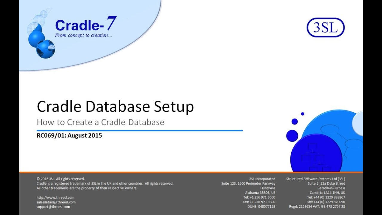 how to create a new database