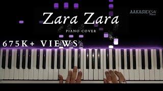 Zara Zara   Piano Cover   Bombay Jayashri   Aakash Desai