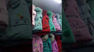 Видео Новое поступление детских курток от 2 до 14 лет