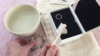Pandora $15 cleaning kit. Cleaning and organizing a bracelet.