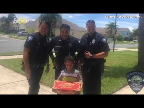 DJ Jaime Ferreira aka Dirty Elbows - Florida Cops Take Pizza To Child After Her Called 911 Because He Was Hungry