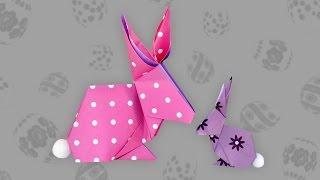 Origami Hase: Bunny - Faltanleitung (Live erklärt)