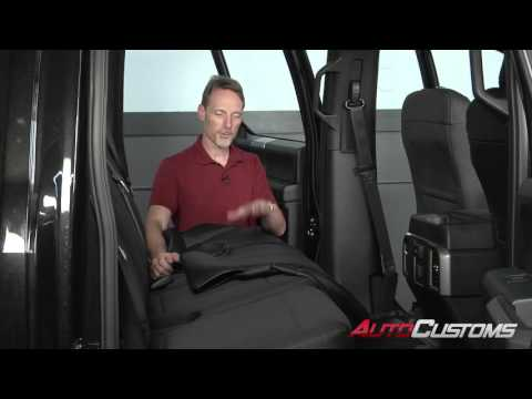 How to Install Leather Craft Seat Skinz Seat Covers at AutoCustoms.com