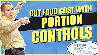 Restaurant Management Tip - Why Portion Controls Are So Important to Food Cost #restaurantsystems
