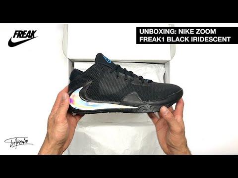 UNBOX – NIKE ZOOM FREAK 1 'BLACK