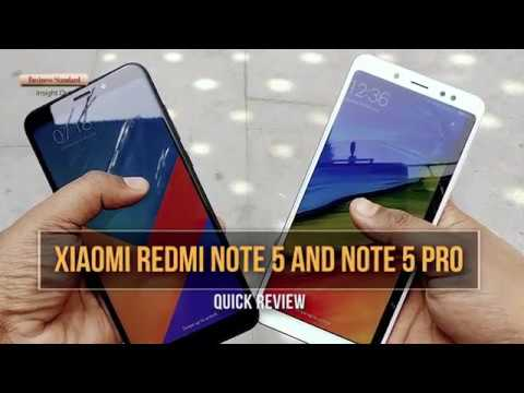Xiaomi Redmi Note 5 and Note 5 Pro: Quick review