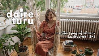 Daire Turu: Begüm'ün Kızıltoprak'taki 2+1 Evi