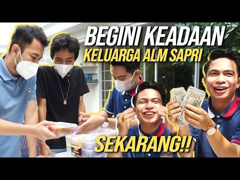 RAFFI DI KASIH MAKANAN WARISAN ALM SAPRI! BAYAR CASH PAKE DOLLAR!!!!!