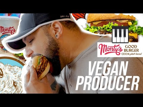 Plant Based Producer - Curtiss King Eats At Monty's Good Burger (Riverside, CA)
