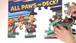 Paw Patrol * All Paws On Deck * Unboxing Puzzle Series Surprise Disneycollector