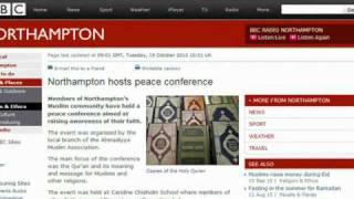 BBC Northampton on Ahmadiyya Peace.mp4