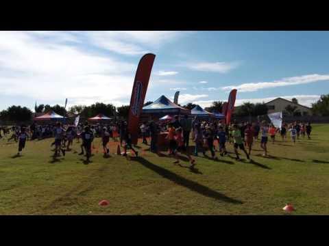 Fun Run at Basha Elementary School 2015 part 2