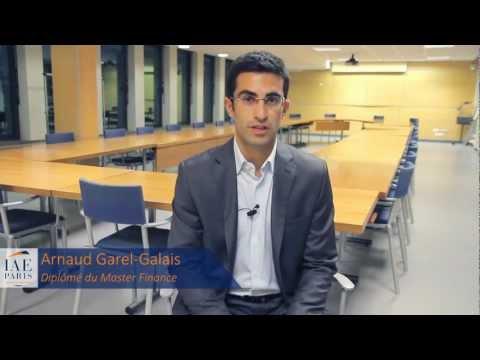 Master Finance - IAE de Paris